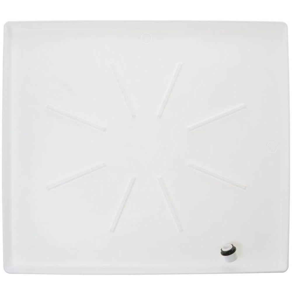 medium resolution of low profile washer tray in white