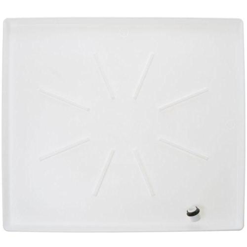 small resolution of low profile washer tray in white