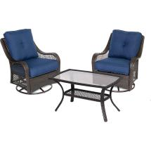 Envelor Hanover Orleans 3-piece Aluminum Patio Outdoor