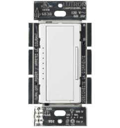 lutron maestro c l dimmer switch for dimmable led halogen and incandescent bulbs single  [ 1000 x 1000 Pixel ]