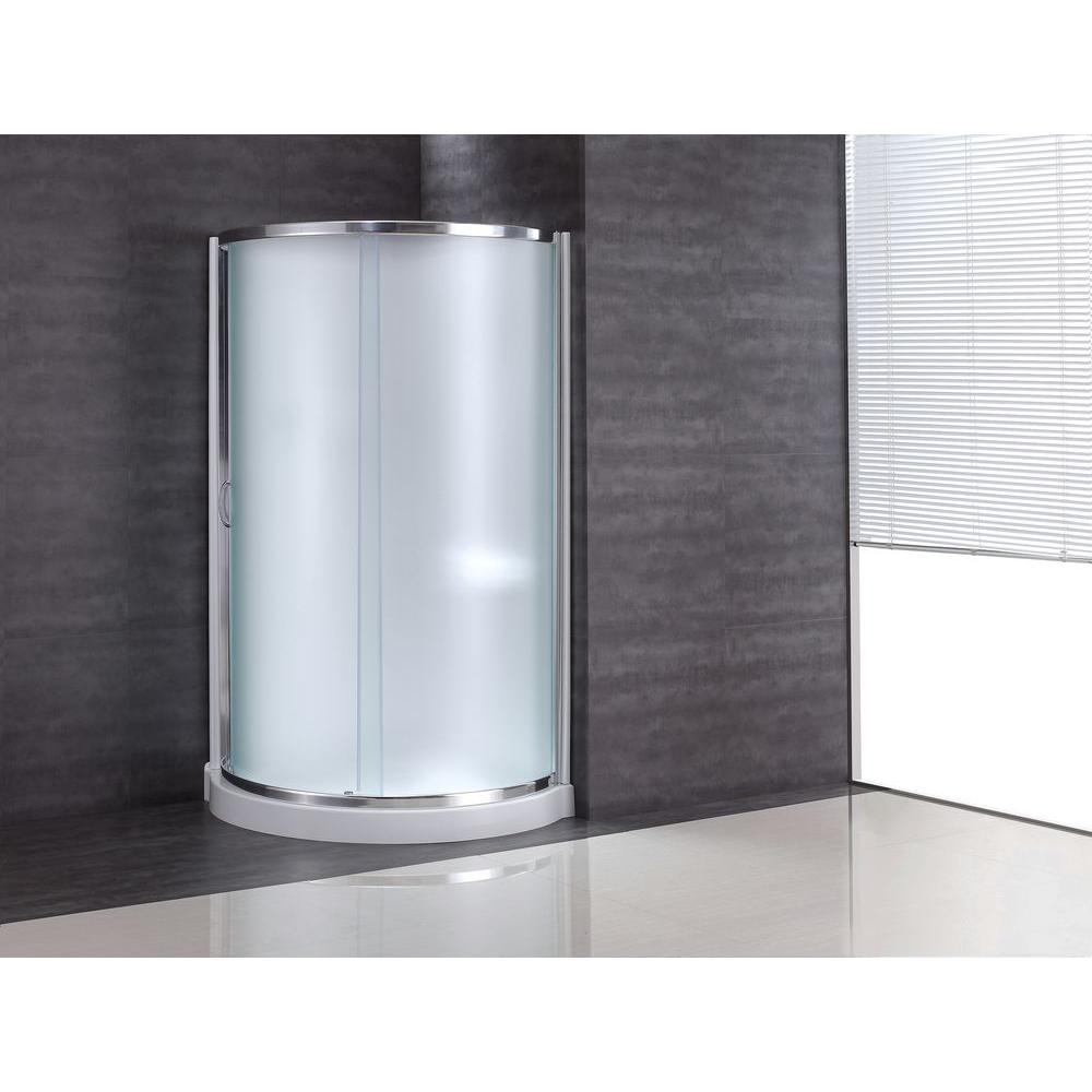 OVE Decors Breeze 31 In X 31 In X 76 In Shower Kit With