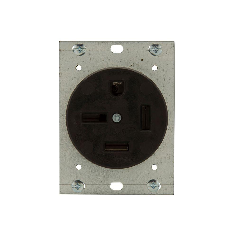 medium resolution of 50 amp 250 volt 15 50 3 pole 4 wire power receptacle