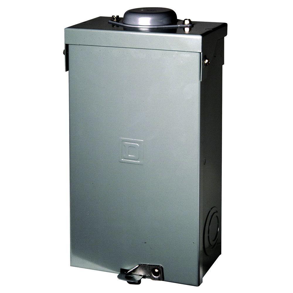 medium resolution of square d qo 100 amp 2 pole outdoor circuit breaker enclosure with qo2100 breaker included