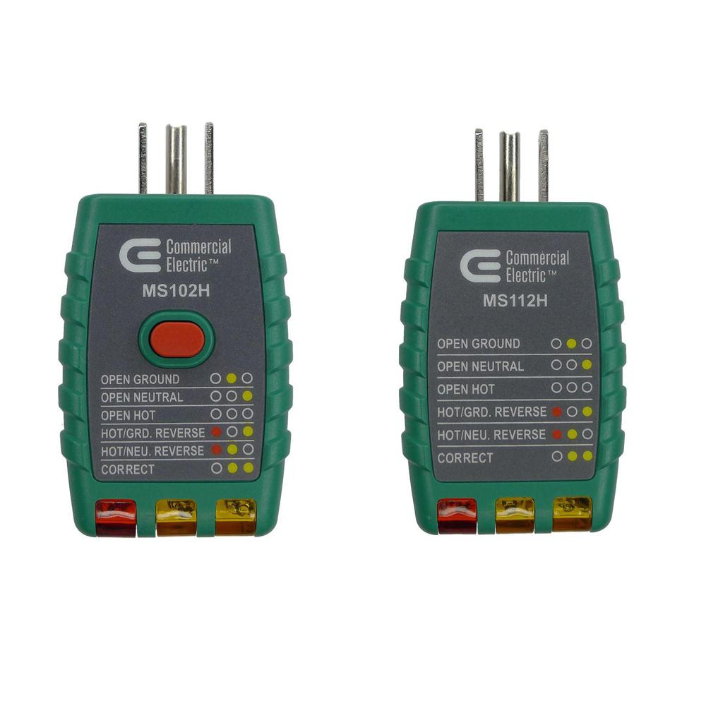 hight resolution of outlet tester with gfci and outlet tester