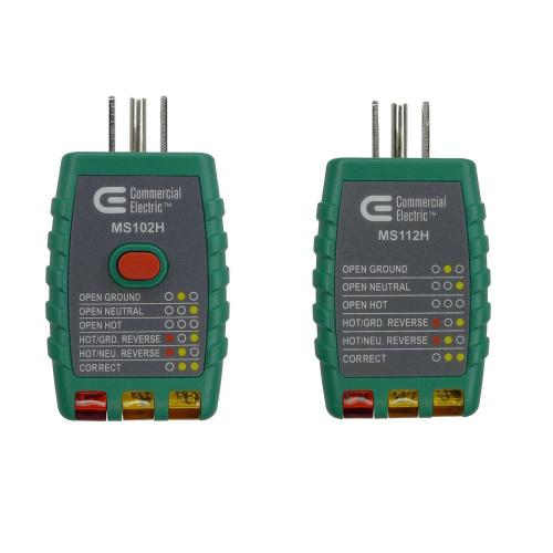small resolution of outlet tester with gfci and outlet tester