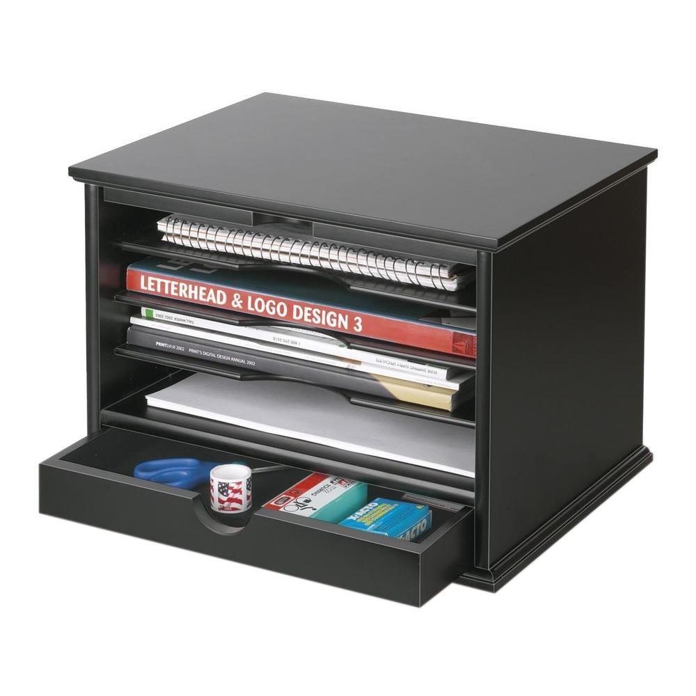 Victor 4Shelf Desktop Organizer Black47205  The Home