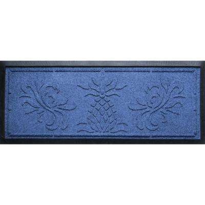 blue kitchen rugs decorative plates for wall blues mats the home depot navy