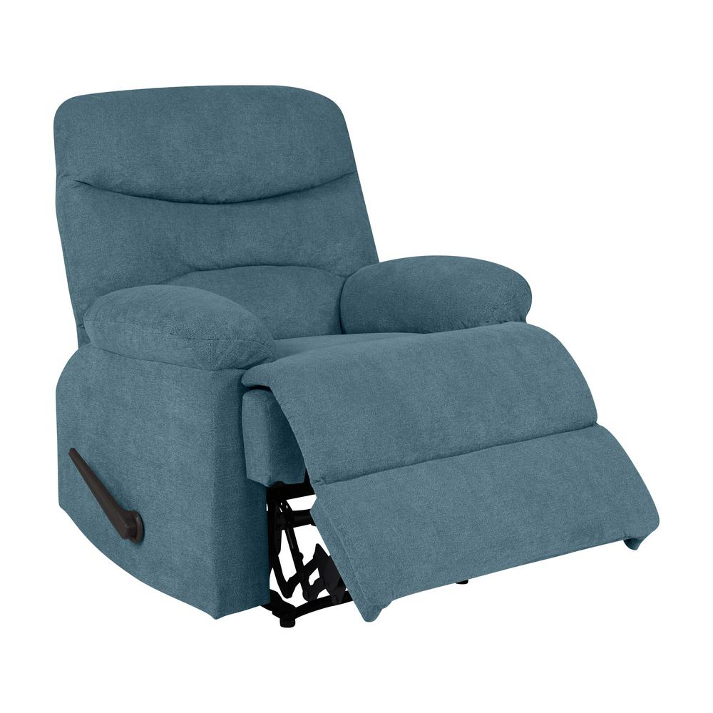 wall hugger recliner chair chairs at marshalls home goods prolounger caribbean blue chenille rcl5 brm55