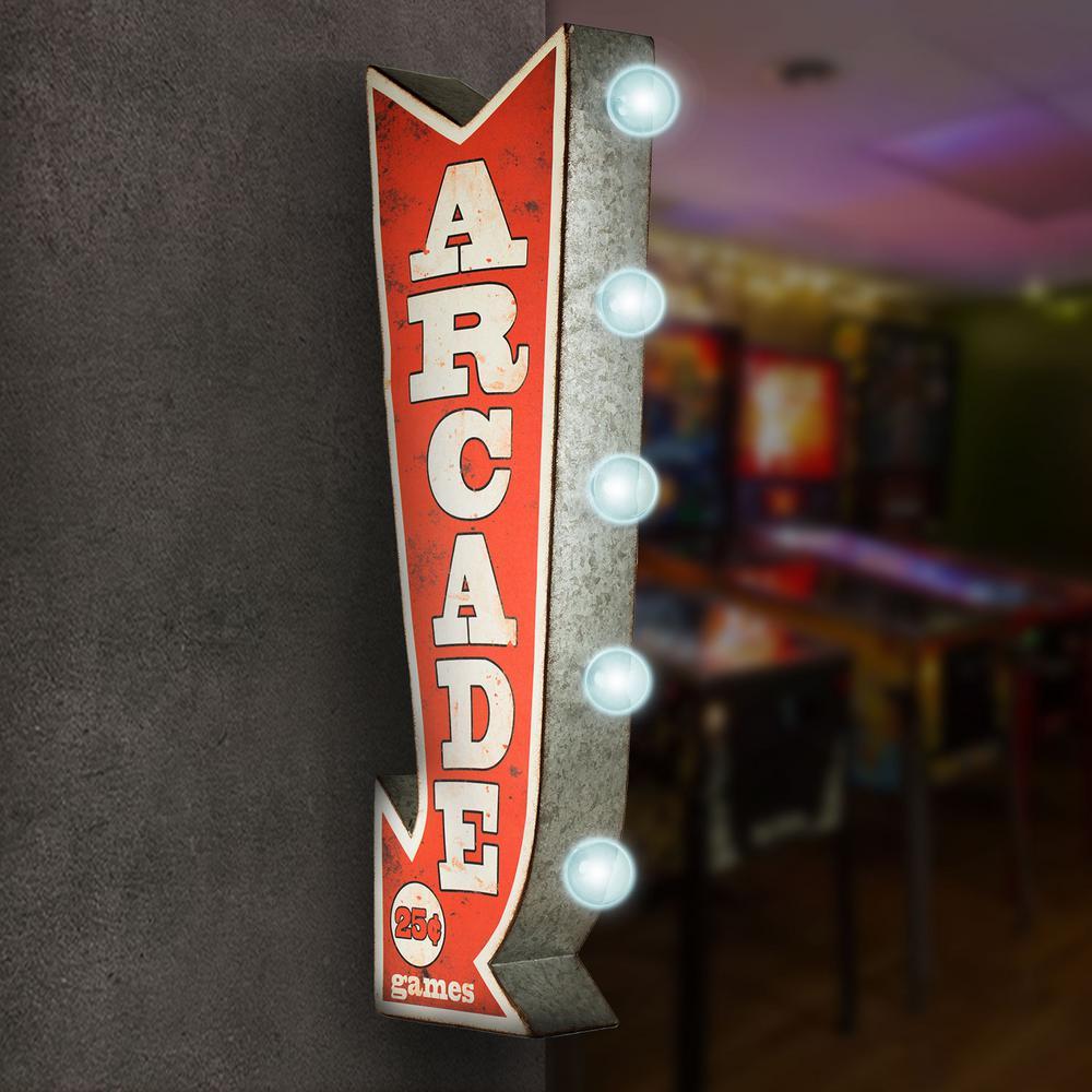 Crystal Art Gallery Arcade Games Metal Arrow Vintage