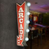 Crystal Art Gallery Arcade Games Metal Arrow Vintage ...
