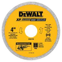 DEWALT 4 in. Ceramic Tile Circular Saw Blade-DW4729 - The ...