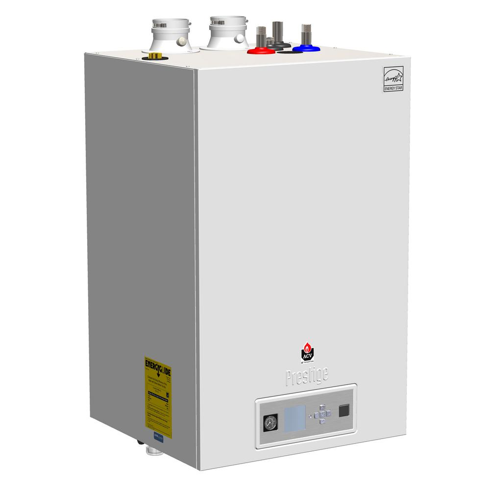 hight resolution of prestige excellence 110 condensating gas boiler water heater with 86000 99000 btu and 1100000 input