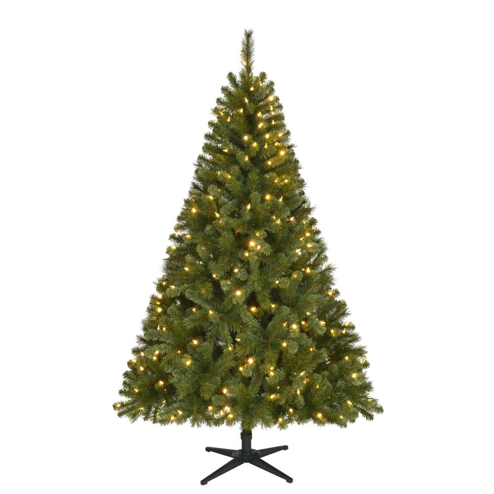 hight resolution of pre lit led wesley spruce artificial christmas tree with