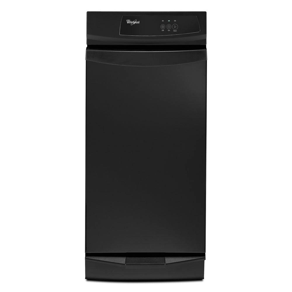 medium resolution of whirlpool 15 in convertible trash compactor in black gc900qppb install a trash compactor wiring a trash compactor