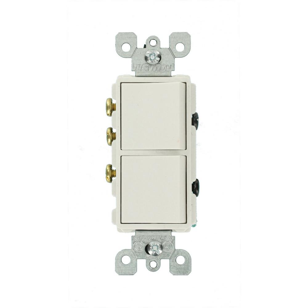 hight resolution of leviton decora 15 amp 3 way ac combination switch white r52 05641 way leviton diagram wiring switch combination single 3 circuit
