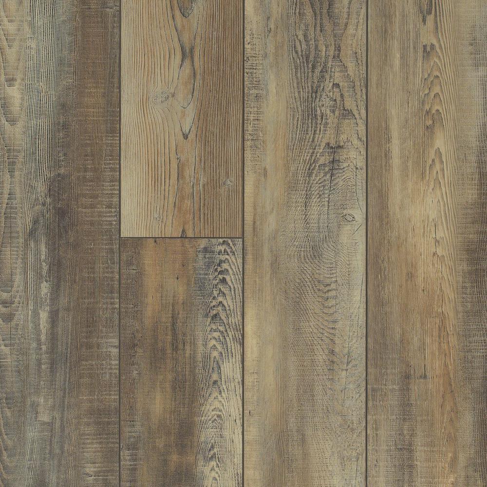 Shaw Primavera 7 in x 48 in Ginger Resilient Vinyl Plank