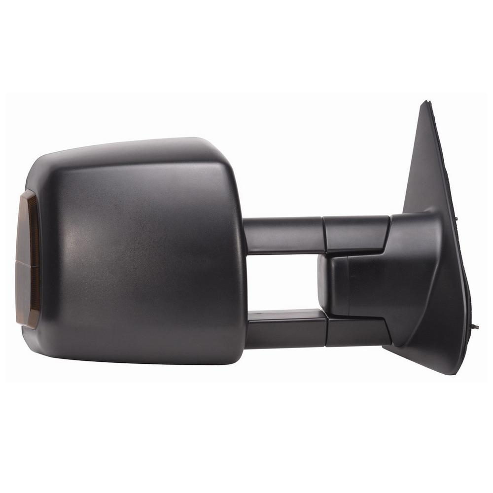 hight resolution of towing mirror for 07 18 toyota tundra 08 18 sequoia with signal and running lights extendable textured black rh