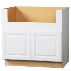 Kitchen Cabinet Photos Apple Valley Cabinets Hampton Bay Assembled 36x34 5x24 In Farmhouse Apron Front Sink Base