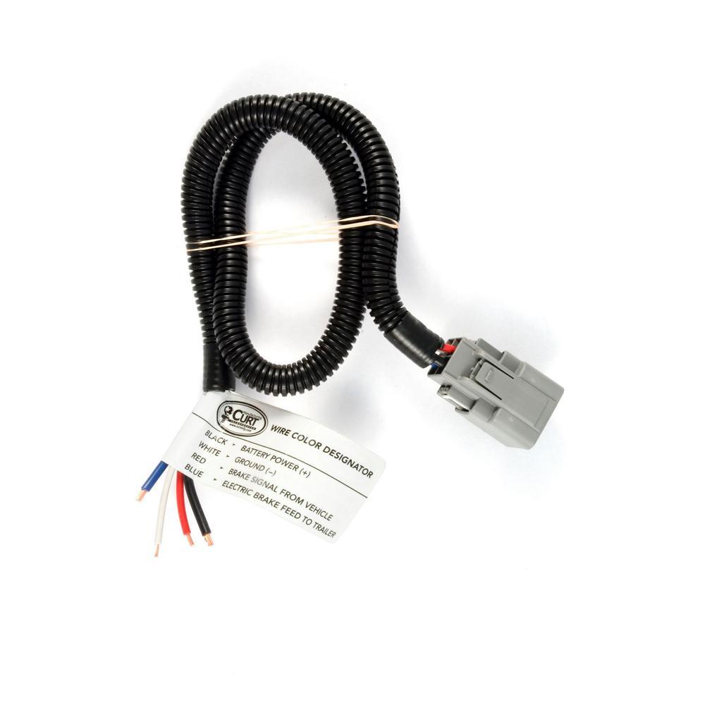 hight resolution of curt brake control harness packaged 51371 the home depotbrake control harness packaged
