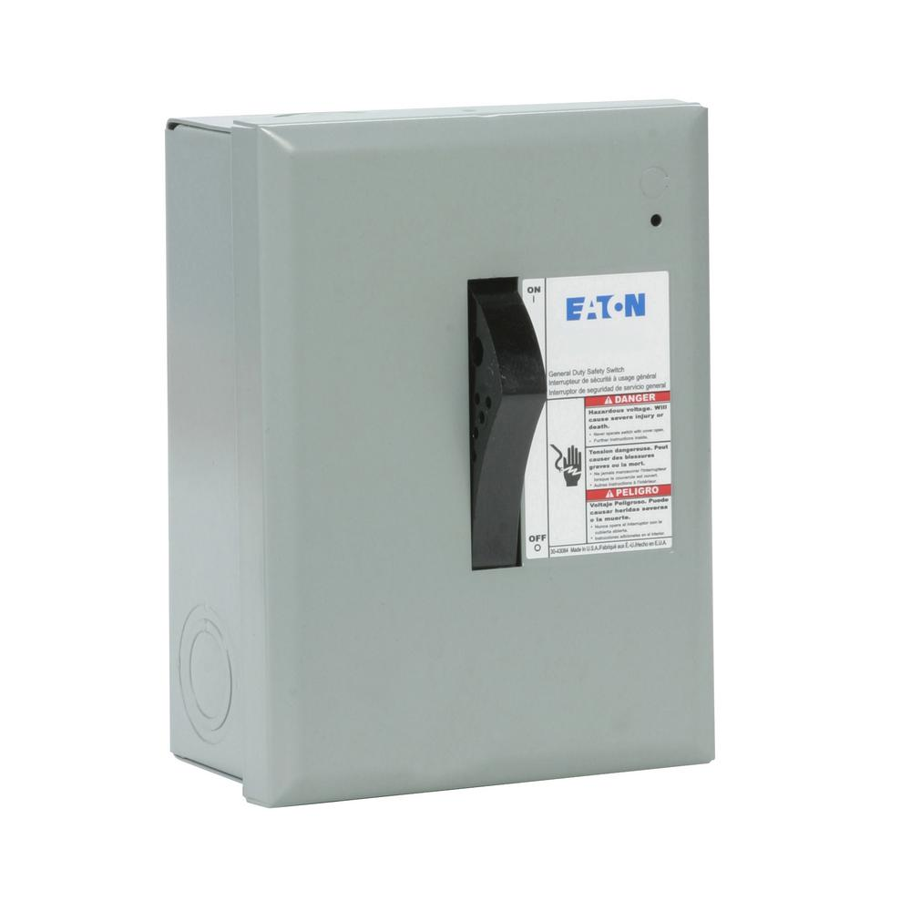 medium resolution of eaton 30 amp 120 240 volt 7 200 watt fused general duty safety wiring a cutler hammer fuse box