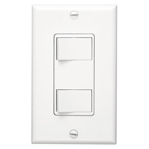 small resolution of broan nutone white 2 function rocker switch wall control