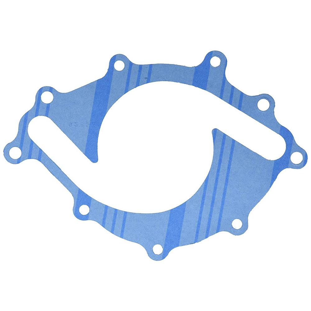 hight resolution of engine water pump backing plate gasket