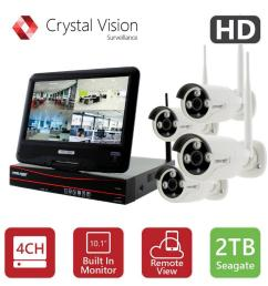 crystal vision 4 channel true hd 2tb hdd wireless cctv with 4 autopair weatherproof [ 1000 x 1000 Pixel ]