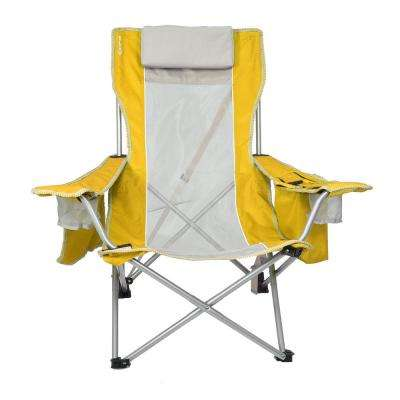 fishing chair rain cover outdoor wicker hanging yellow camping hunting sports outdoors the home depot haleakala sunrise beach sling