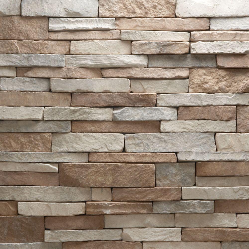 Buy 3d Faux Rock Stone Wallpaper Veneerstone Stacked Stone Villa Flats 10 Sq Ft Handy