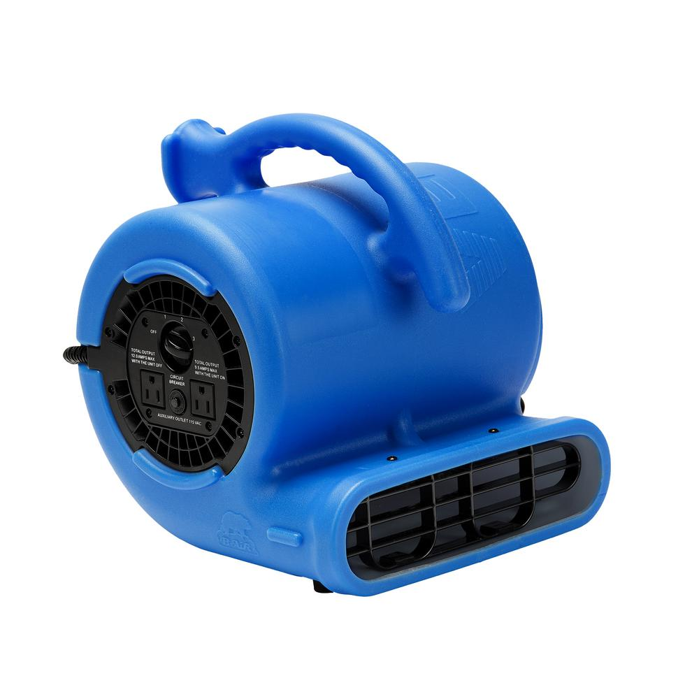 14 HP Air Mover for Water Damage Restoration Carpet Dryer