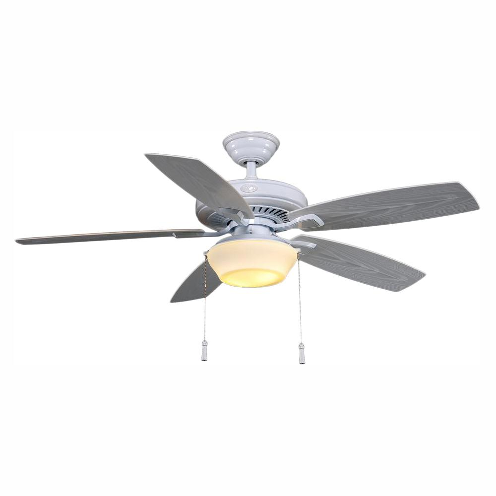 hight resolution of led indoor outdoor white ceiling fan with on ceiling hampton bay ceiling fan light kit wiring