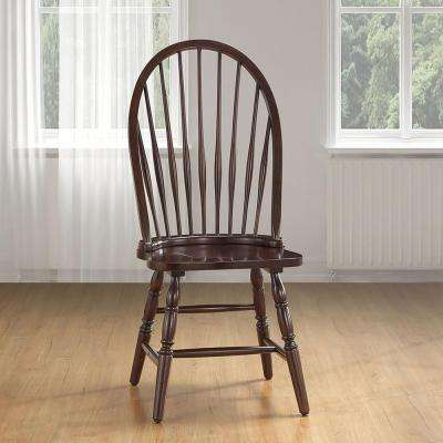 windsor kitchen chairs 2 person beach chair brown wood dining room espresso