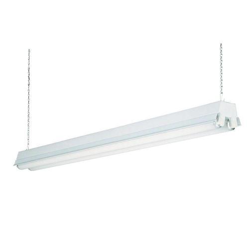 small resolution of lithonia lighting 2 light white t8 fluorescent residential shop light