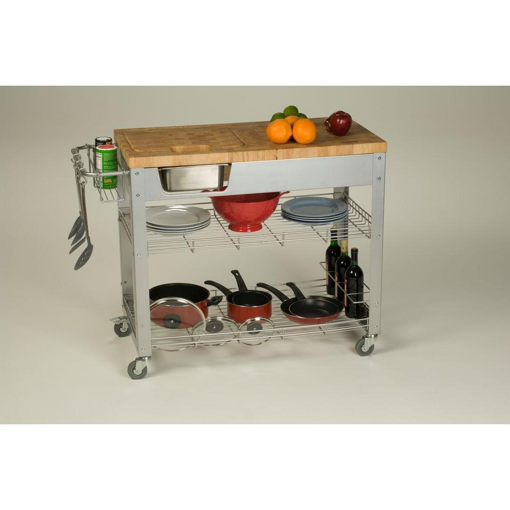 kitchen work station glass subway tile backsplash chris stadium natural cart with storage jet1221