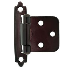 Kitchen Door Hinges Faucets Bronze Liberty Oil Rubbed Self Closing Overlay Cabinet Hinge 1 Pair