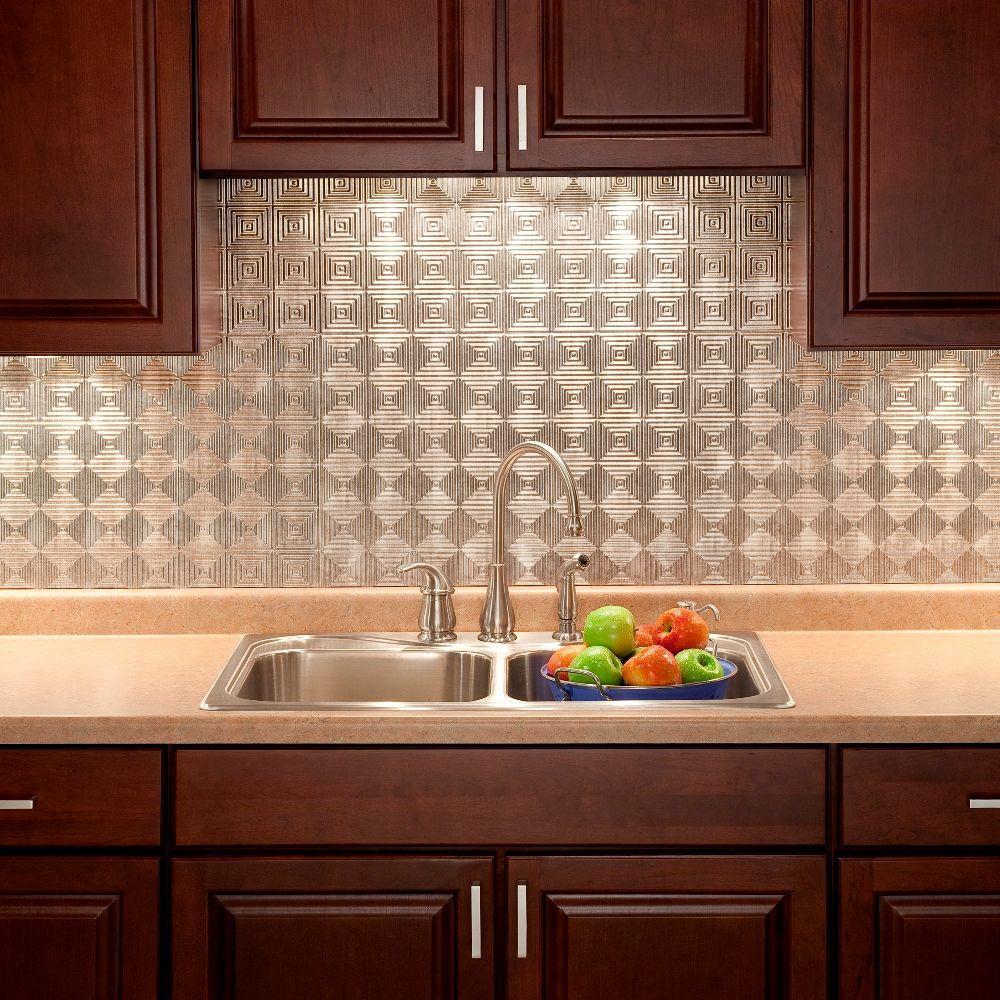Fasade 24 In X 18 In Miniquattro Pvc Decorative