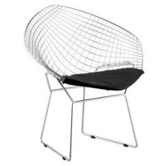 Steel Net Chair Leather Barrel Chairs Swivel Zuo Chrome Metal Set Of 2 188020 The Home Depot Internet 203031083
