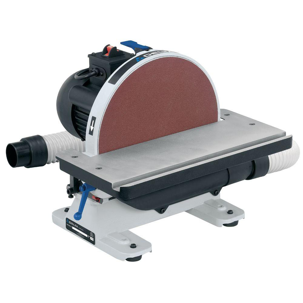 Central Machinery Belt And Disc Sander Manual