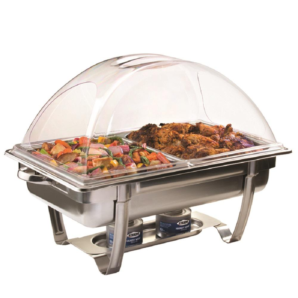 Sterno CandleLamp ClearDome Chafer Lid