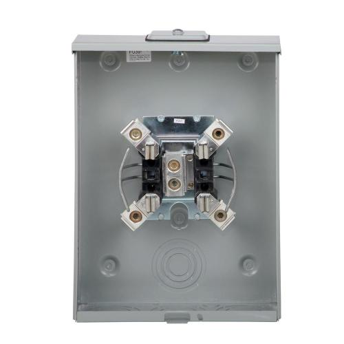 small resolution of 200 amp ringless overhead and underground meter socket