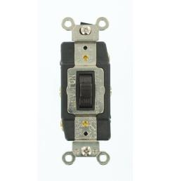 leviton 30 amp industrial grade heavy duty double pole double throw cooper wiring devices 30amp brown single pole locking light switch [ 1000 x 1000 Pixel ]