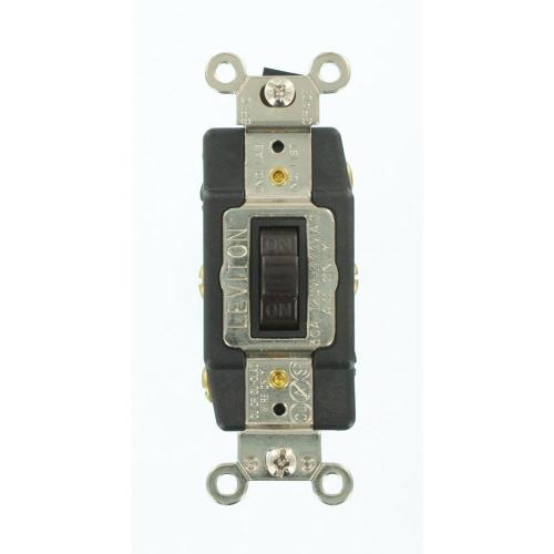 small resolution of leviton 30 amp industrial grade heavy duty double pole double throw cooper wiring devices 30amp brown single pole locking light switch