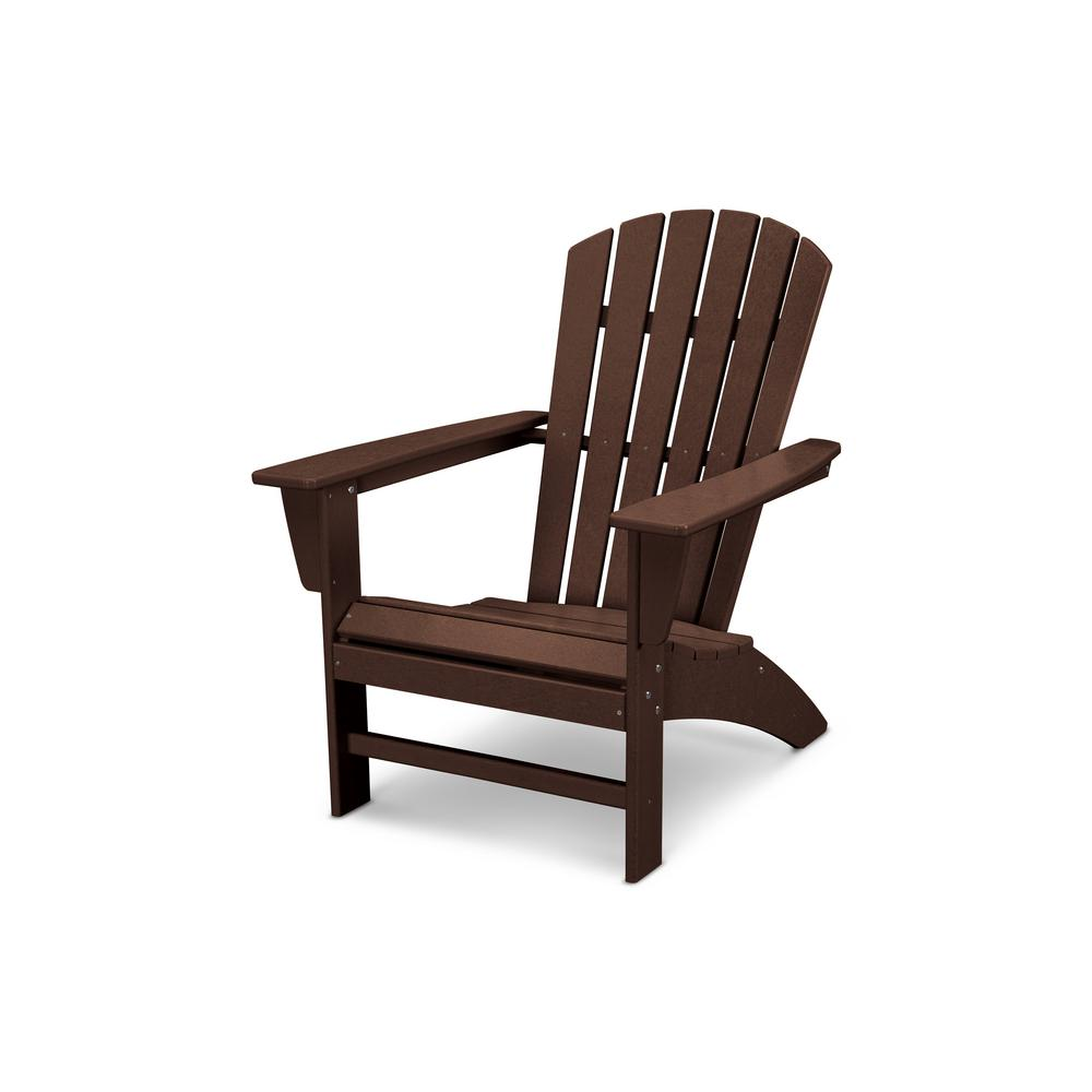 POLYWOOD Traditional Curveback Adirondack Chair in