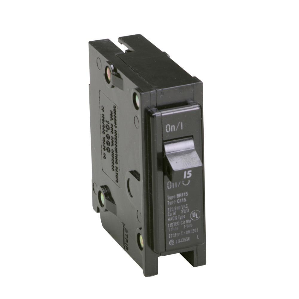 medium resolution of eaton br 15 amp single pole circuit breaker