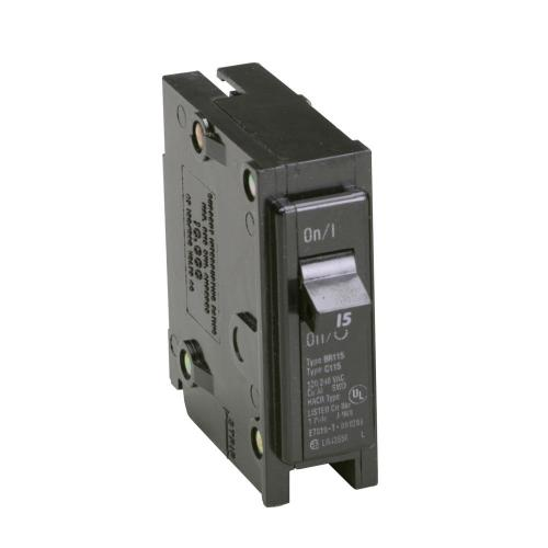 small resolution of eaton br 15 amp single pole circuit breaker
