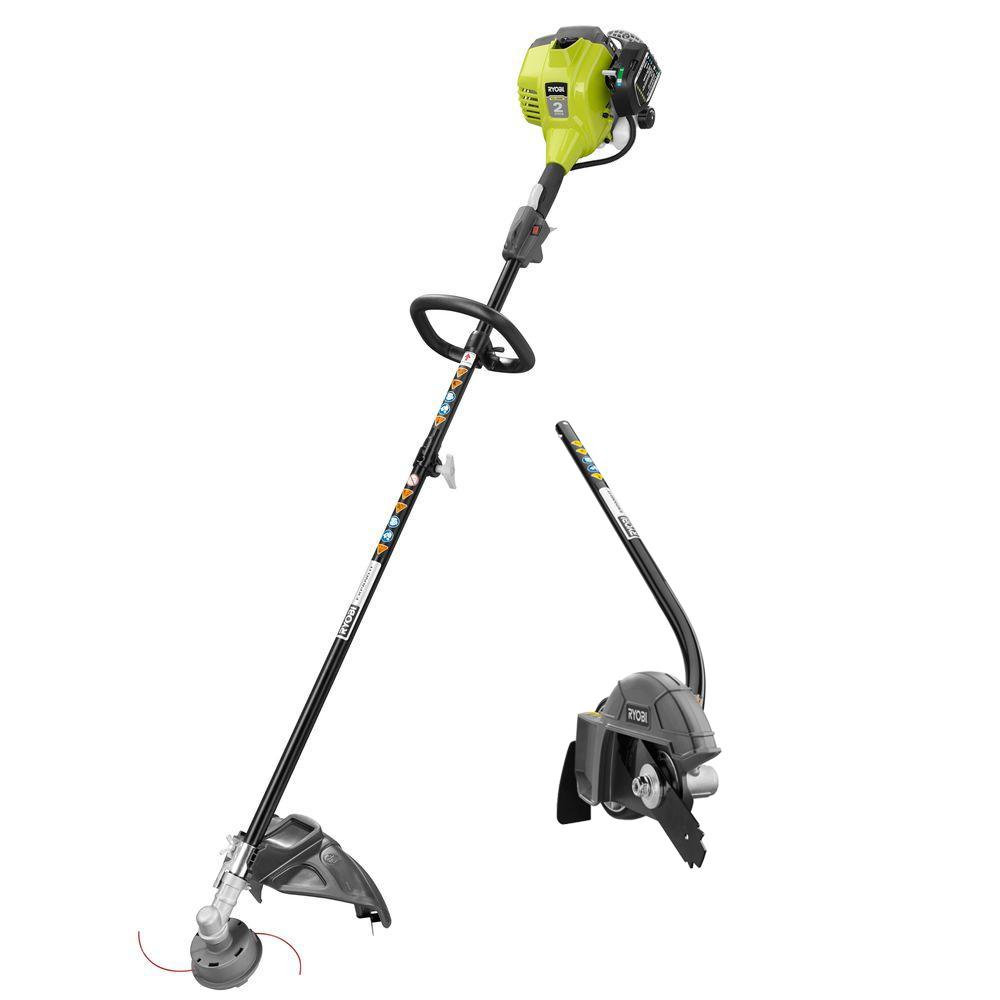 RYOBI 2-Cycle 25cc Gas Full Crank Straight Shaft String