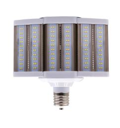250 watt equivalent 80 watt corn cob shoebox led high lumen area light bulb bypass mog 120 277v daylight 5000k 84103 [ 1000 x 1000 Pixel ]
