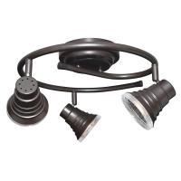 Lithonia Lighting Spotlight 44.5 in. 3-Light Oil-Rubbed ...