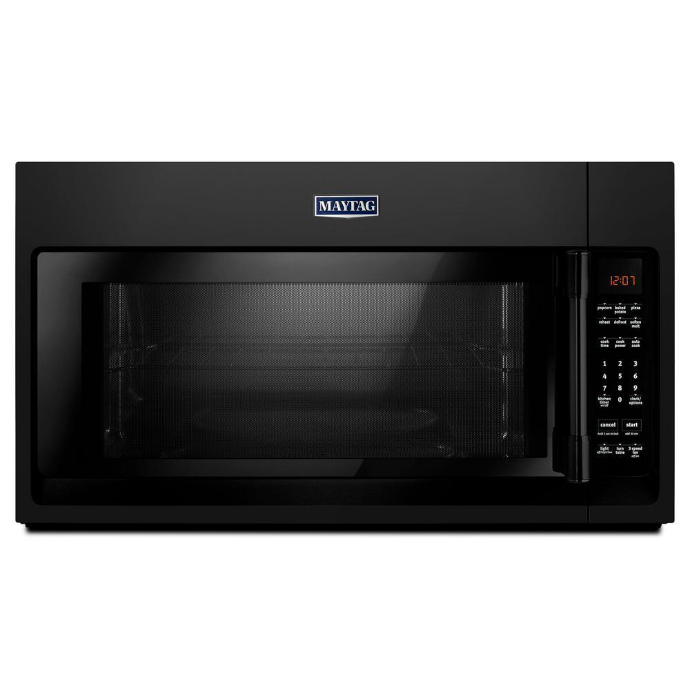 medium resolution of 2 0 cu ft over the range microwave hood in black