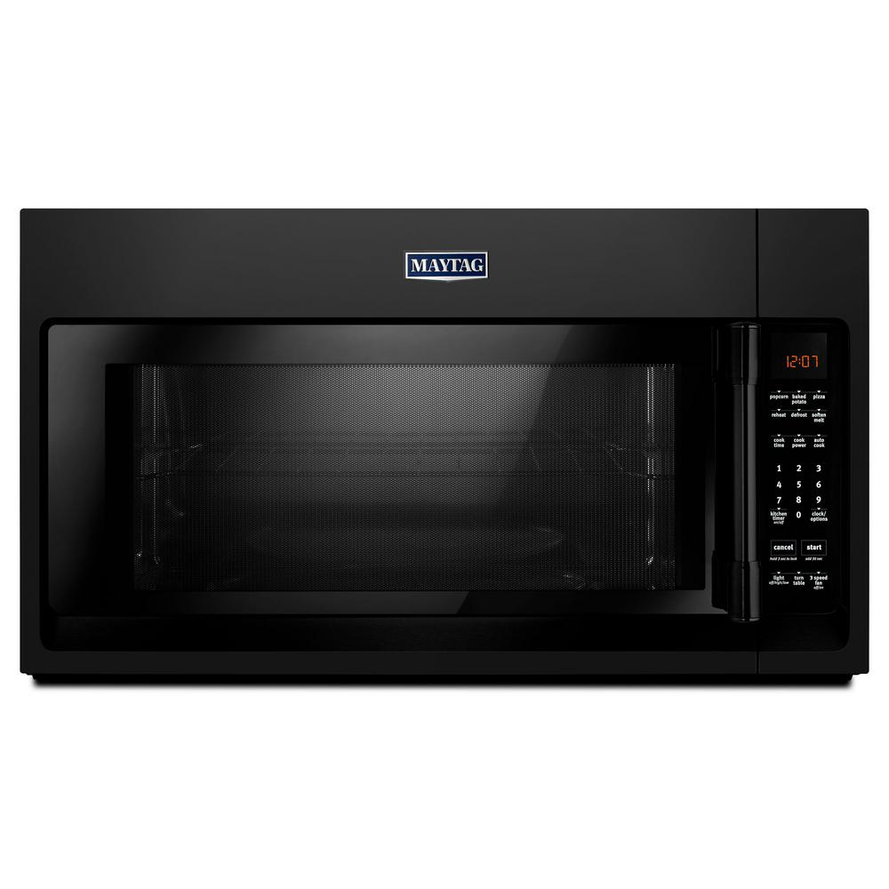 hight resolution of 2 0 cu ft over the range microwave hood in black